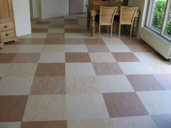 Podlahová krytina marmoleum