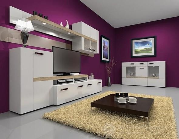 barevný nábytek