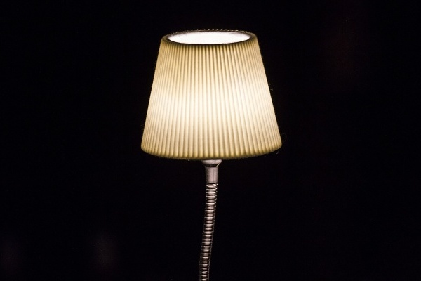 lampa se stínidlem