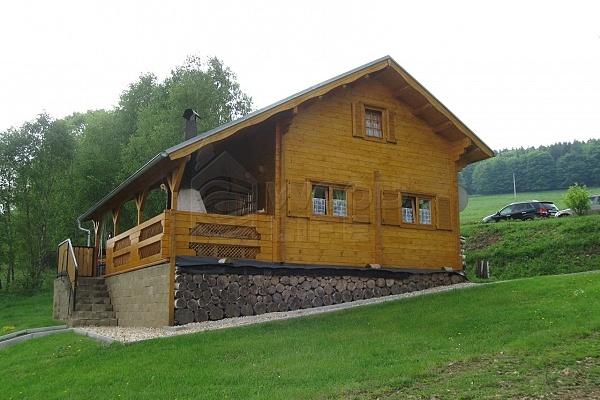 dřevěné sruby